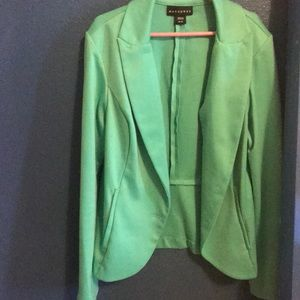 Teal Blazer. Only worn once.